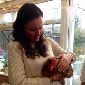 A Hen with a Hen!