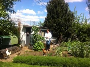 Michele's pic of Hen Corner