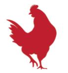 Hen logo good