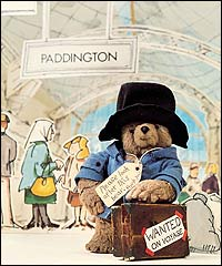 Paddington at station