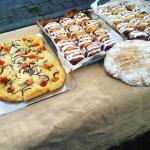 Baking at market
