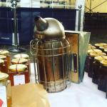 Honey at market