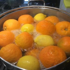 Oranges Boiling