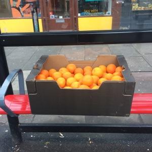 Oranges bus stop