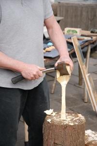 Axe on spatula
